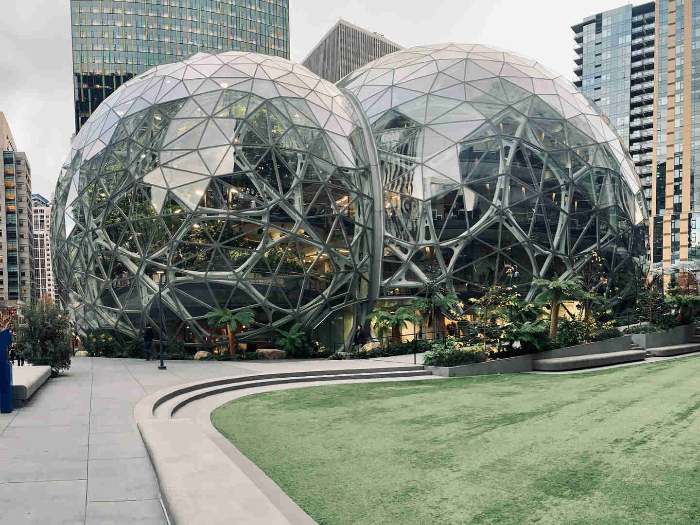 Le Sfere, foreste in vitro a Seattle