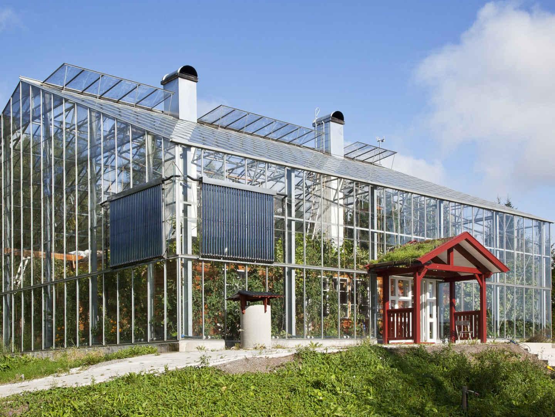 Naturhusvillan: le case svedesi dall'estate perenne