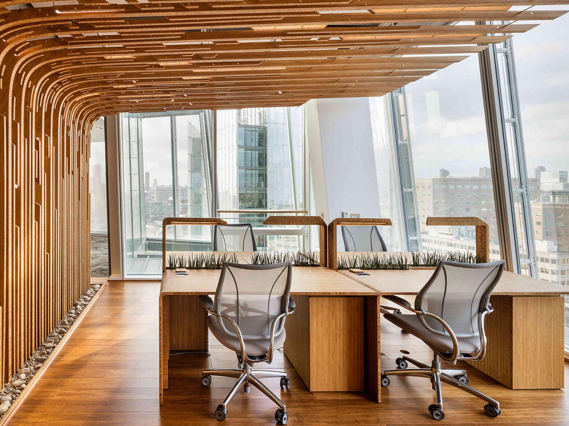 L'habitat lavorativo sperimentale di DaeWha Kang Design: quando il futuro incontra natura ed estetica