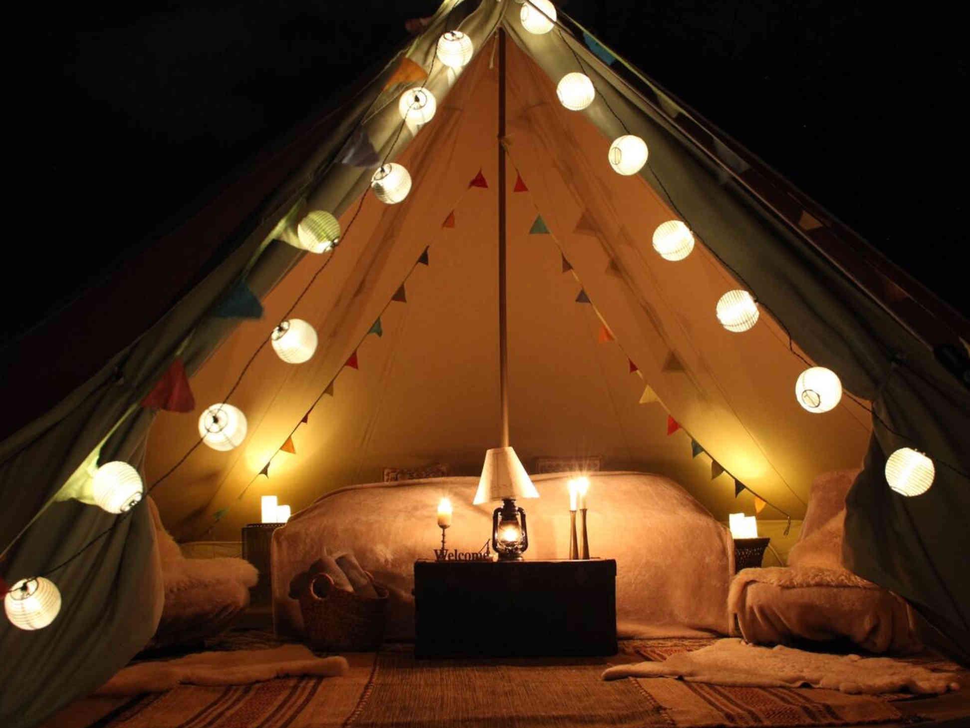 Il glamping, in tenda tra comfort e lusso